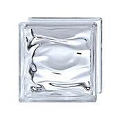 Bloque de vidrio Cloudy 19x19x8 cm