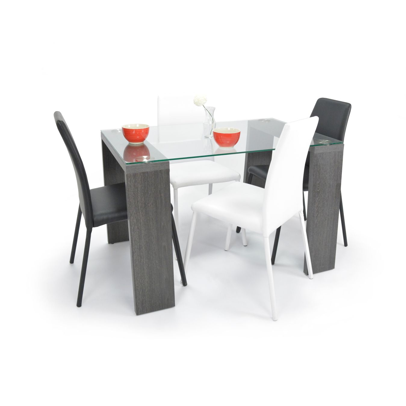Sp vd set comedor 4pmilan negro negro bl   homecenter.com.co