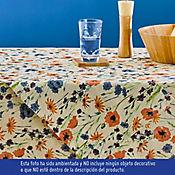 Mantel Floral 180 x 180Cm Cuadrado