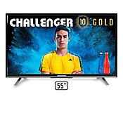 Televisor LED 55 pulgadas SmartTV T18 Full HD Android T2 + Soporte de pared