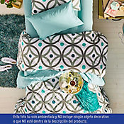 Quilt para Cama Queen 180 Hilos India Estampado