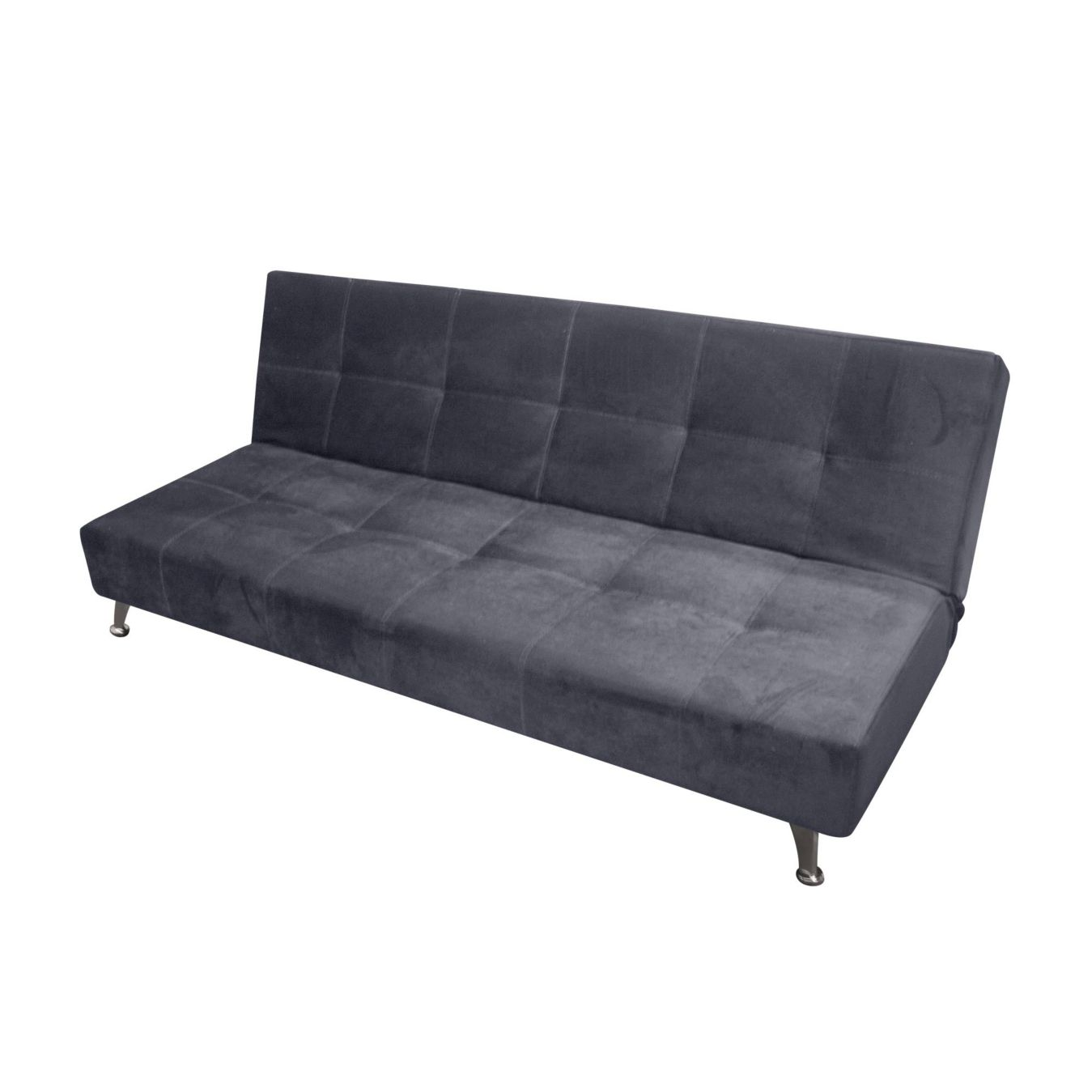 Sofa cama nick murano negro   homecenter.com.co