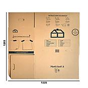 Caja Mudanzas sin Cinta 76x43.5x47.5cm
