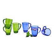 Mug Azul de 312 cc Diversidad Simple