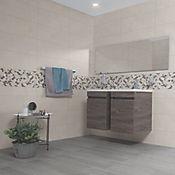 Base Cerámica Decorada para Baño y Cocina Artemisa Retro 30.1x75.3 cm Multicolor