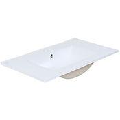 Lavamanos Kyra 80x2x46 cm cerámico - Blanco