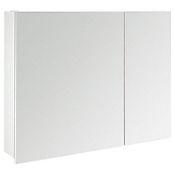 Gabinete Nika 80x13x61 cm 2 puertas - Blanco