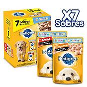 Pedigree Pack Cachorro x 7 Sobres