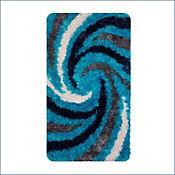 Tapete Espiral 60x110 cm Turquesa