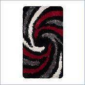 Tapete Espiral 120x170 cm Rojo