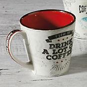 Mug Tendencia Café A Lot Of Coffee 405 cc