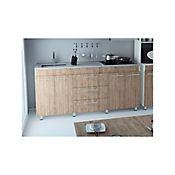 Mueble inferior cocina 1.80 metros Bari