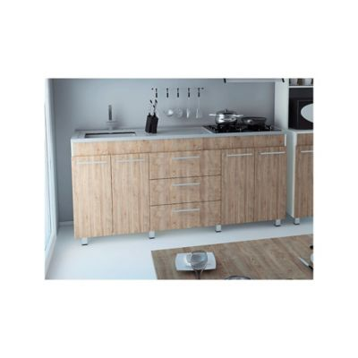 Mueble para cocina inferior metros 4 puertas 3 for Gabinetes para cocina homecenter