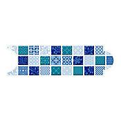 Listello para Baño Colombo 8x25 cm Azul
