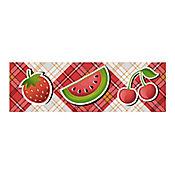 Listón Cerámico Bermejo 43x13.5 cm Rojo