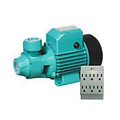 Bomba de Agua 370W 0.5HP28L/Min+Multitoma P/T 6Sal