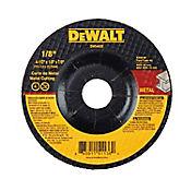 Disco Abrasivo Corte Metal 4 1/2 X 1/8  Ref DW44820