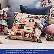 Cojín en Tela Diseños 50x50 cm Multicolor