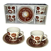 Set de Café x 4 Puestos 160 cc Coffee Fresh
