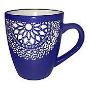 Mug Flores 12 Oz