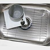 Protector lavaplatos en acero 43 x 30 x 1 cm