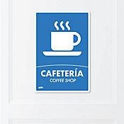 Senal Cafeteria 22x15cm Poliestireno