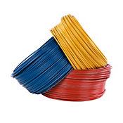 Alambre #14 1 metro amarillo Conectores y Cables
