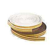 Burlete Adhesivo Perfil P Blanco 11.90mX9mmX5mm