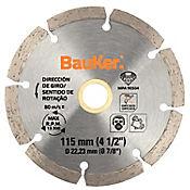 Disco diamantado segmentado 4-1/2 pulgadas 21WR15D