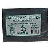 Bolsa Para Basura Negra 49 x 70 cm 6 Und