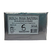 Bolsa Para Basura Negra 90 x 10 cm 6 Unid