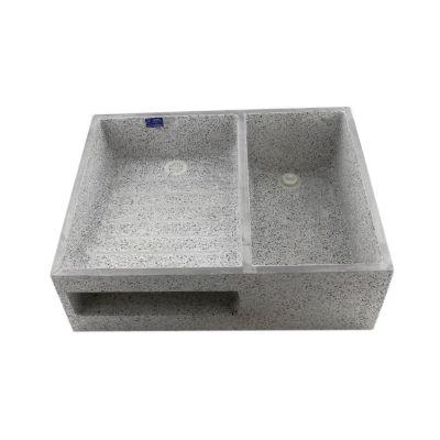Lavadero 80 x 60 x 25 cm granito pulido lavaderos for Modelos de lavaderos