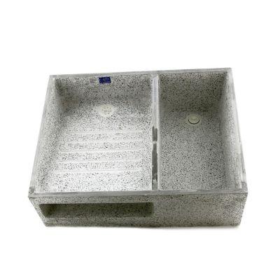 Lavadero 70 x 55 x 22 cm granito pulido lavaderos for Lavadero de granito