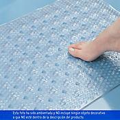Tapete para Baño Antideslizante 60x40 cm Traslucido