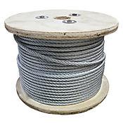 Cable de Acero Galvanizado de 1/4 Pulgada