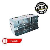 Caja Senc 103x60x45mm 5800 (2X4) Galv Propack 10un