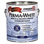 Pintura blanco antihongo 1 galón exteriores