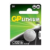Pila litio cr2016 3 voltios 80 miah 1 unidad