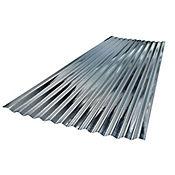 Teja zinc ondulada 2,43 x 0,80 metros