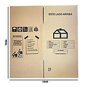 Caja Cartón H Largo51x Ancho51x Altura51cm