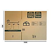 Caja Cartón I Largo61x Ancho41x Alto31cm