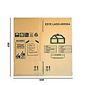 Caja Cartón B Largo31x Ancho31x Alto31cm