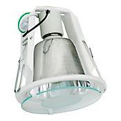 Bala Aluminio con Protector en Vidrio 1 Luz Rosca E27 60w Blanca