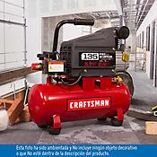 Compresor 1hp 3 galones 125 psi
