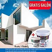 Combo 5 galones de pintura tipo 1 superlavable blanco GRATIS 1 galón