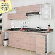 Combo Cocina Spazzi 2.20 m con Mueble superior y  Mueble inferior