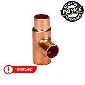 Combo Tee Reduc Tub Flexi Rigida 1/2 10X10X13 Cobre x 100 und