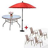 Aire libre muebles jard n y terraza mesas y sillas de for Columpio de terraza homecenter