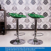 Set x 2 sillas bar Creta verde