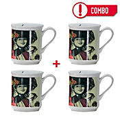 Set de 4 Mugs La Golondrina Colección Grau Corona